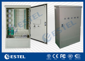 Wall Mounted Outdoor Distribution Box Optic Fiber Cross Connect Cabinets