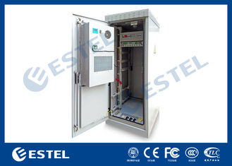Custom Outdoor Telecom Cabinet , Telecom Equipment Cabinet With Air Conditioner