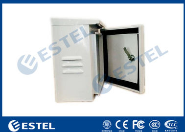 IP55 Single Wall Pole Mount Enclosure Cabinet Small Metal Box One Front Door